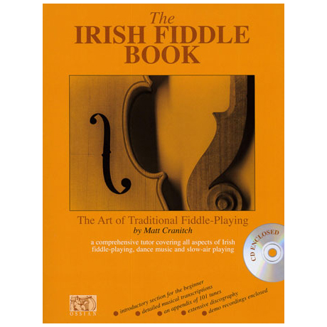 Cranitch, M.: The Irish Fiddle Book (+CD)