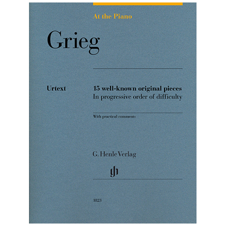 Grieg, E.: At The Piano