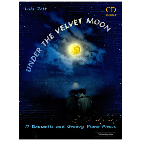 Zett: Under the Velvet Moon (+CD)