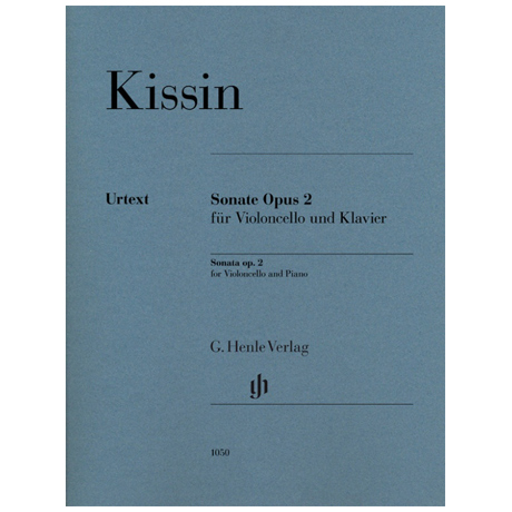 Kissin, E.: Violoncellosonate Op. 2