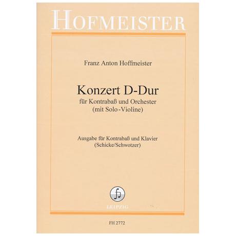 Hoffmeister, F.A.: Kontrabasskonzert D-Dur