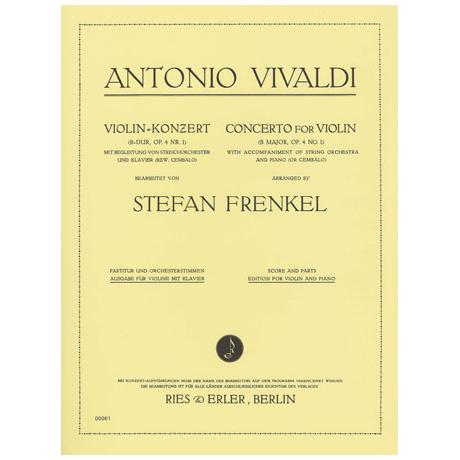 Vivaldi, A.: Violinkonzert Nr. 1 Op. 4 B-Dur