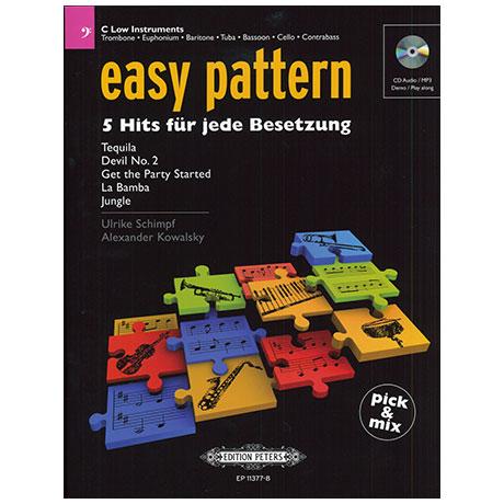 easy pattern – 5 Hits für jede Besetzung (+CD)