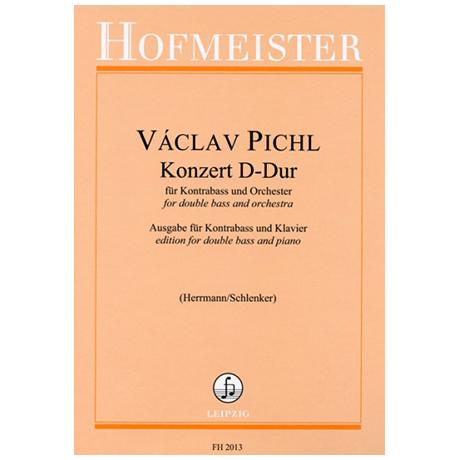 Pichl, V.: Kontrabasskonzert  D-Dur