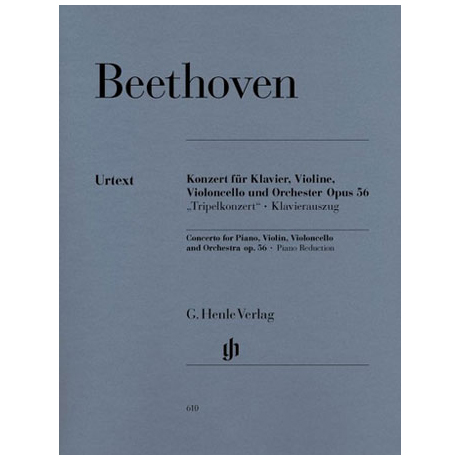 Beethoven, L. v.: Tripelkonzert Op. 56 C-Dur