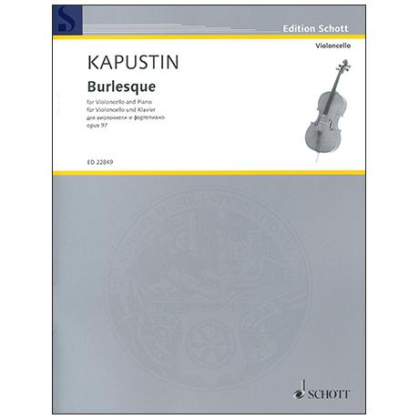 Kapustin, N.: Burlesque Op. 97