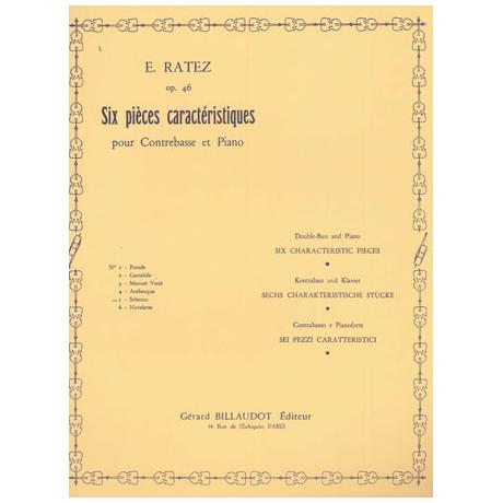 Ratez, E.: 6 Pièces Caractéristiques Op. 46/5 Scherzo