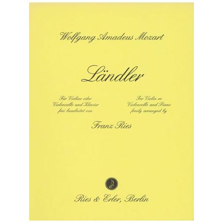 Mozart, W. A.: Ländler G-Dur