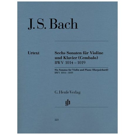 Bach, J.S.: 6 Sonaten BWV 1014-1019