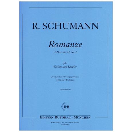 Schumann, R.: Romanze Op. 94/2 A-Dur