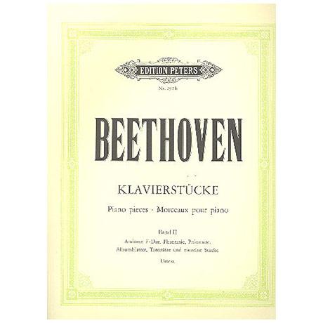 Beethoven, L. v.: Klavierstücke Band II