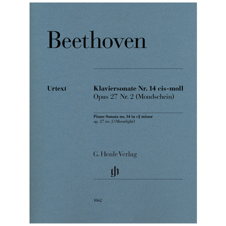 Beethoven, L. v.: Klaviersonate Nr. 14 Op. 27 Nr. 2 cis-Moll »Mondscheinsonate«