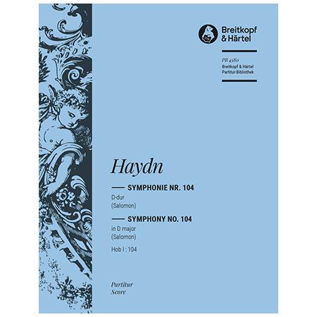 Haydn, J.: Symphonie Nr. 104 D-Dur Hob I:104