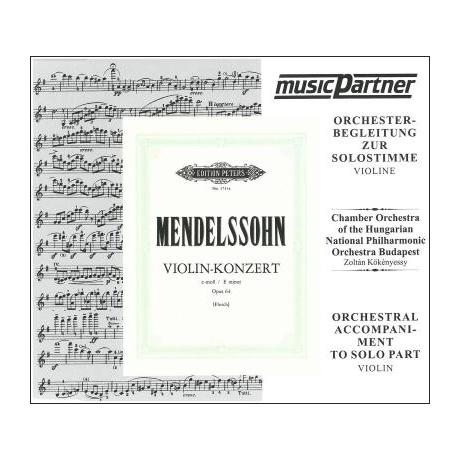 Mendelssohn Bartholdy, F.: Violinkonzert Op. 64 e-Moll (nur CD)