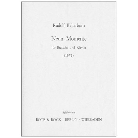 Kelterborn, R.: 9 Momente