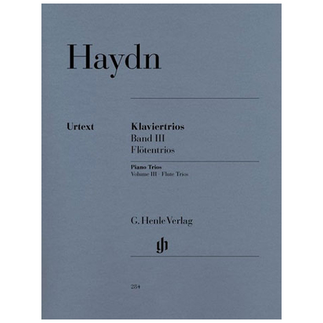 Haydn, J.: Klaviertrios Band 3 Hob XV:15-17 »Flötentrios«