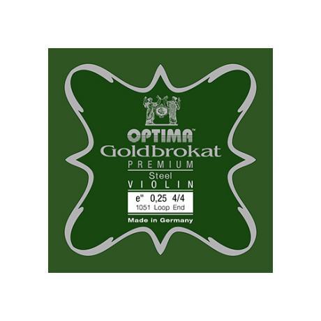 LENZNER-OPTIMA Goldbrokat Premium Violinsaite E