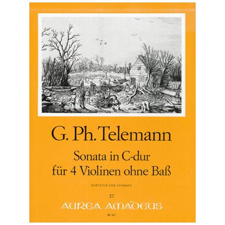 Telemann, G. Ph.: Sonate C-Dur TWV 40:203