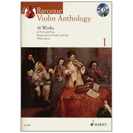 Baroque Violin Anthology (+CD)