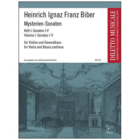 Biber, H. I. F.: Mysterien-Sonaten Band 1