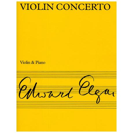 Elgar, E.: Violinkonzert Op. 61 h-Moll