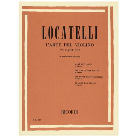 Locatelli, P. A.: L'arte del Violino - 25 Capricen aus Op. 3