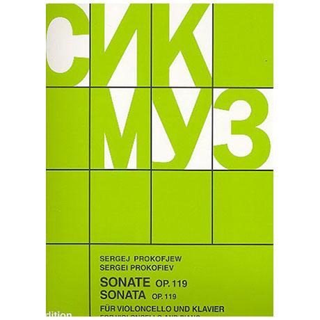 Prokofjew, S.: Sonate Nr. 1 Op. 119