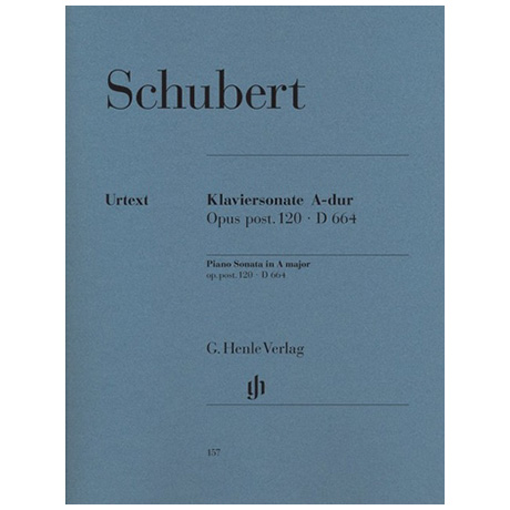Schubert, F.: Klaviersonate A-Dur Op. post. 120 D 664
