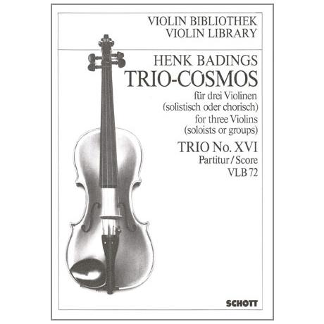Badings, H.H.: Trio-Cosmos Nr.16