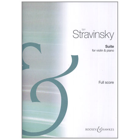 Strawinsky, I.: Suite aus »Pulcinella«