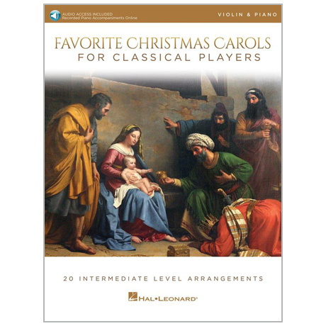 Favorite Christmas Carols for Violin (+Online Audio)
