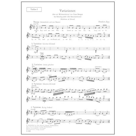 Zipp, F.: Variationen über das Weihnachtslied Knecht Ruprecht aus dem Walde