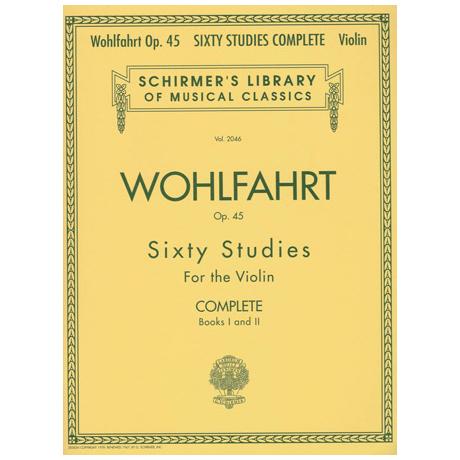 Wohlfahrt, F.: 60 Etüden Op. 45