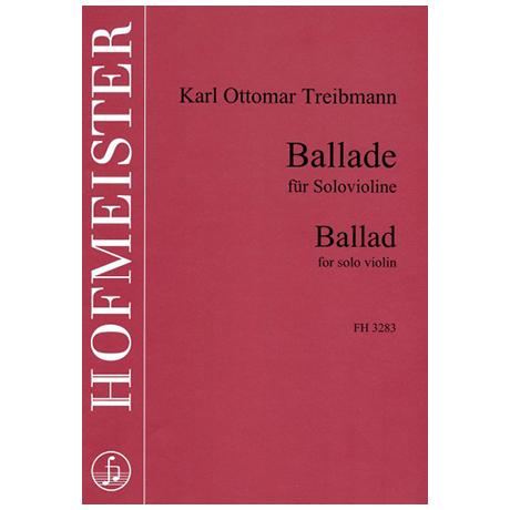 Treibmann, K. O.: Ballade für Solovioline
