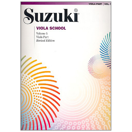 Suzuki Viola School Vol. 5