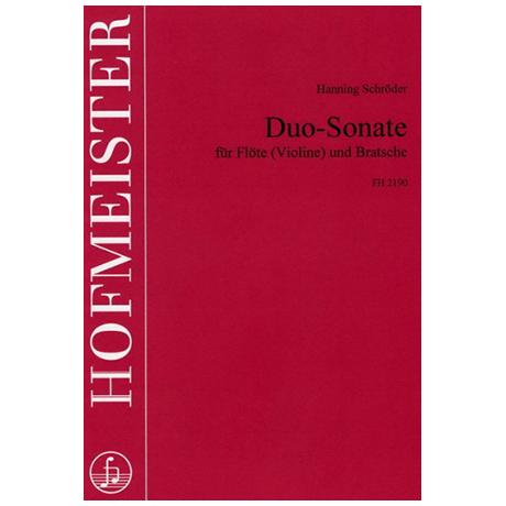 Schröder, H.: Duo-Sonate