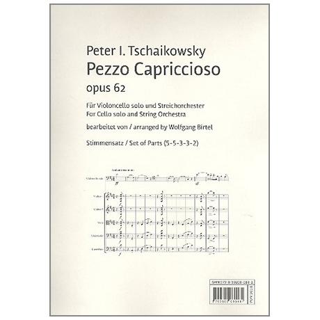 Tschaikowski, P.I.: Pezzo Capriccioso Op.62