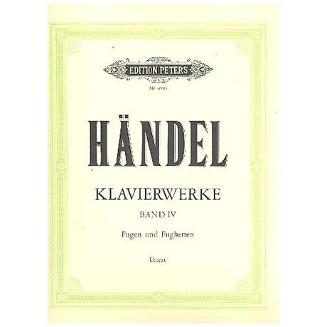 Händel, G. F.: 6 Fugen Op. 3, 6 kleine Fugen