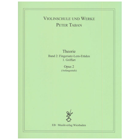 Taban, P.: Op. 2: Theorie Band 2