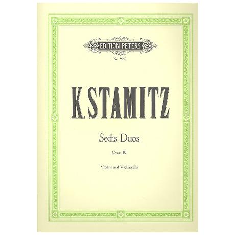 Stamitz, K.: 6 Duos Op. 19