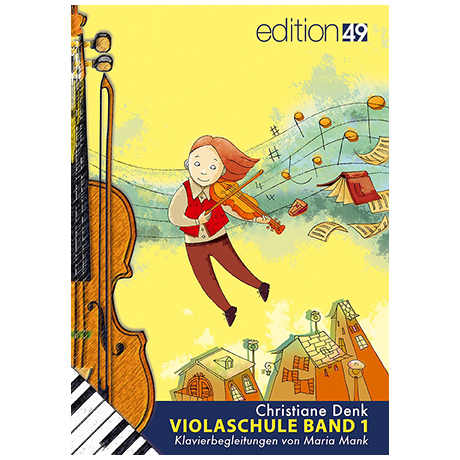 Denk, Chr.: Violaschule Begleitheft