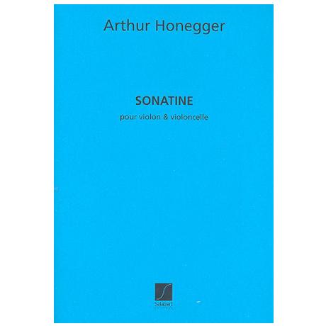 Honegger, A.: Sonatine
