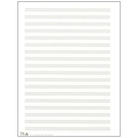 Notenbogen 255x340 mm