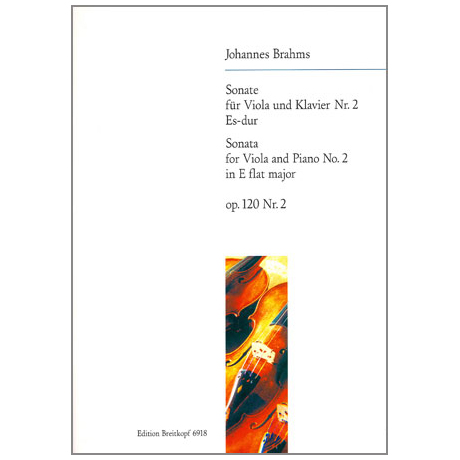 Brahms, J.: Sonate Es-Dur, Op.120/2