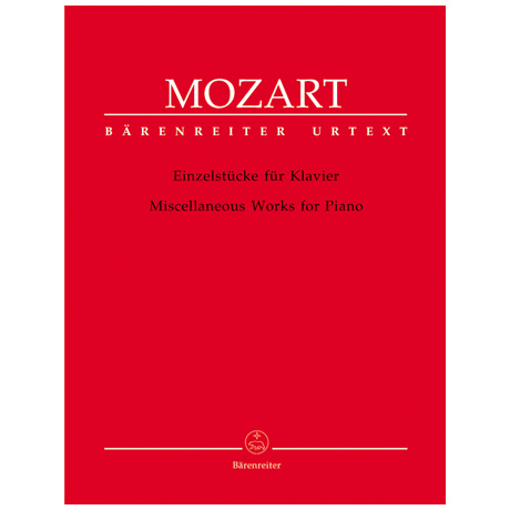 Mozart, W. A.: Einzelstücke