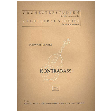 Schwabe / Starke, A.: Orchesterstudien Band 2 - Beethoven (Sinf. VI-IX, Fidelio)
