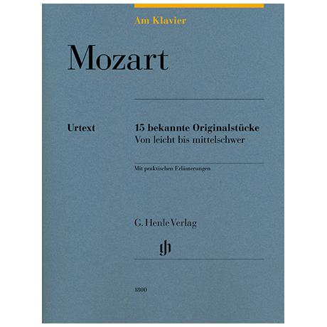 Mozart, W.A.: 15 bekannte Originalstücke – von leicht bis mittelschwer