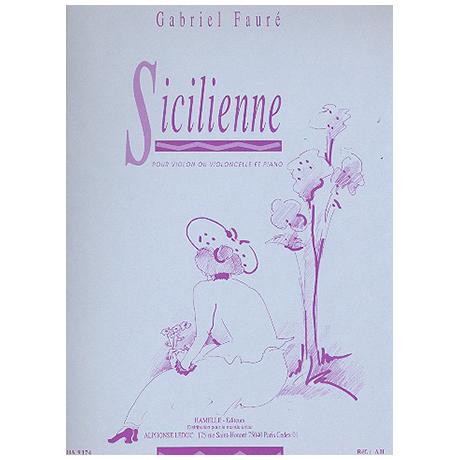 Fauré, G.: Sicilienne Op. 78