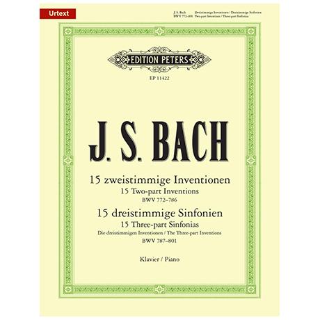 Bach, J.S.: Zwei- und dreistimmige Inventionen