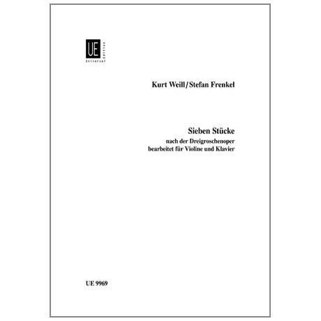 Weill, Kurt: 7 Stücke aus der Dreigroschenoper